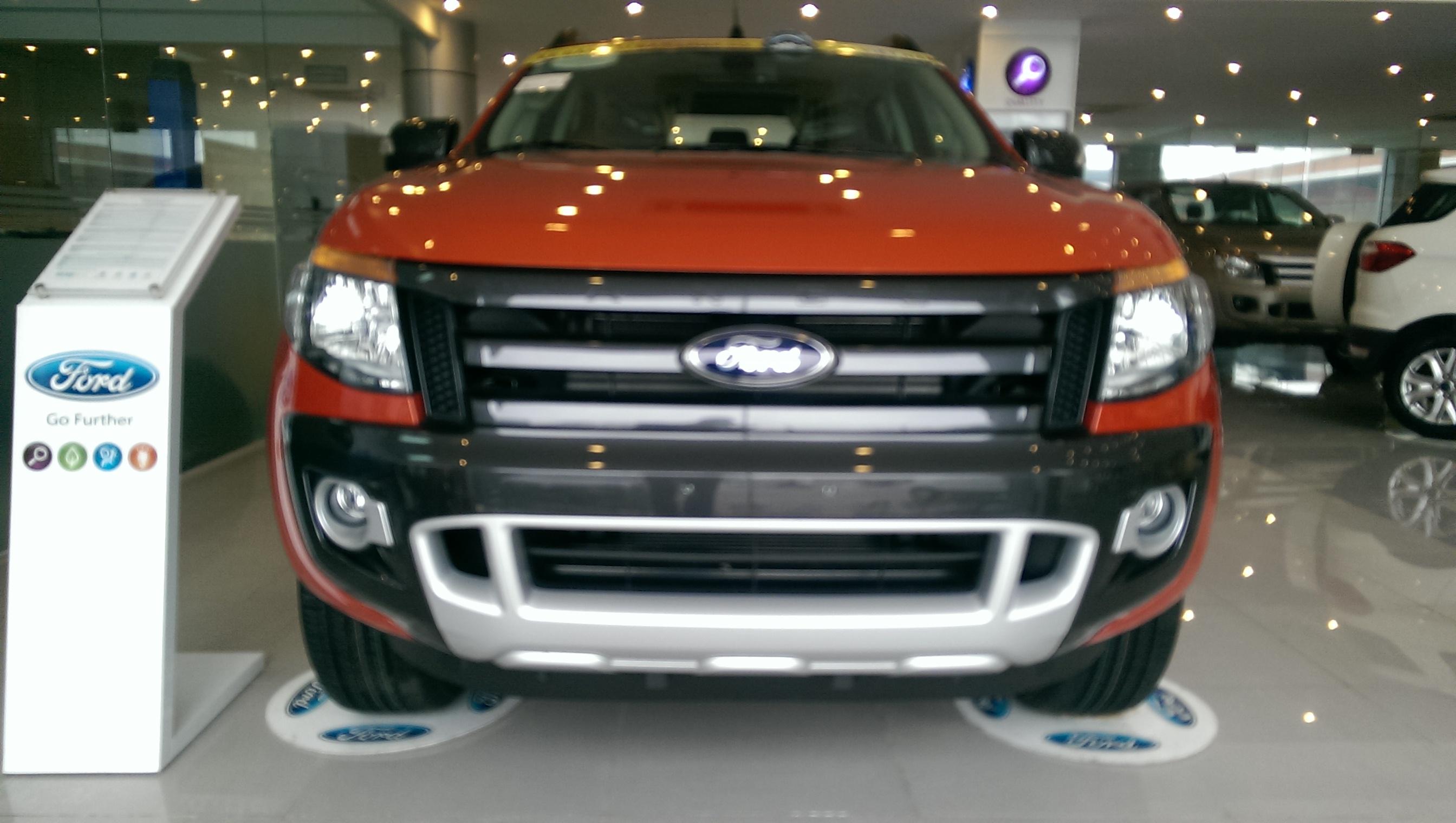 Ford Ranger 3.2L 4×4 AT Wildtruck