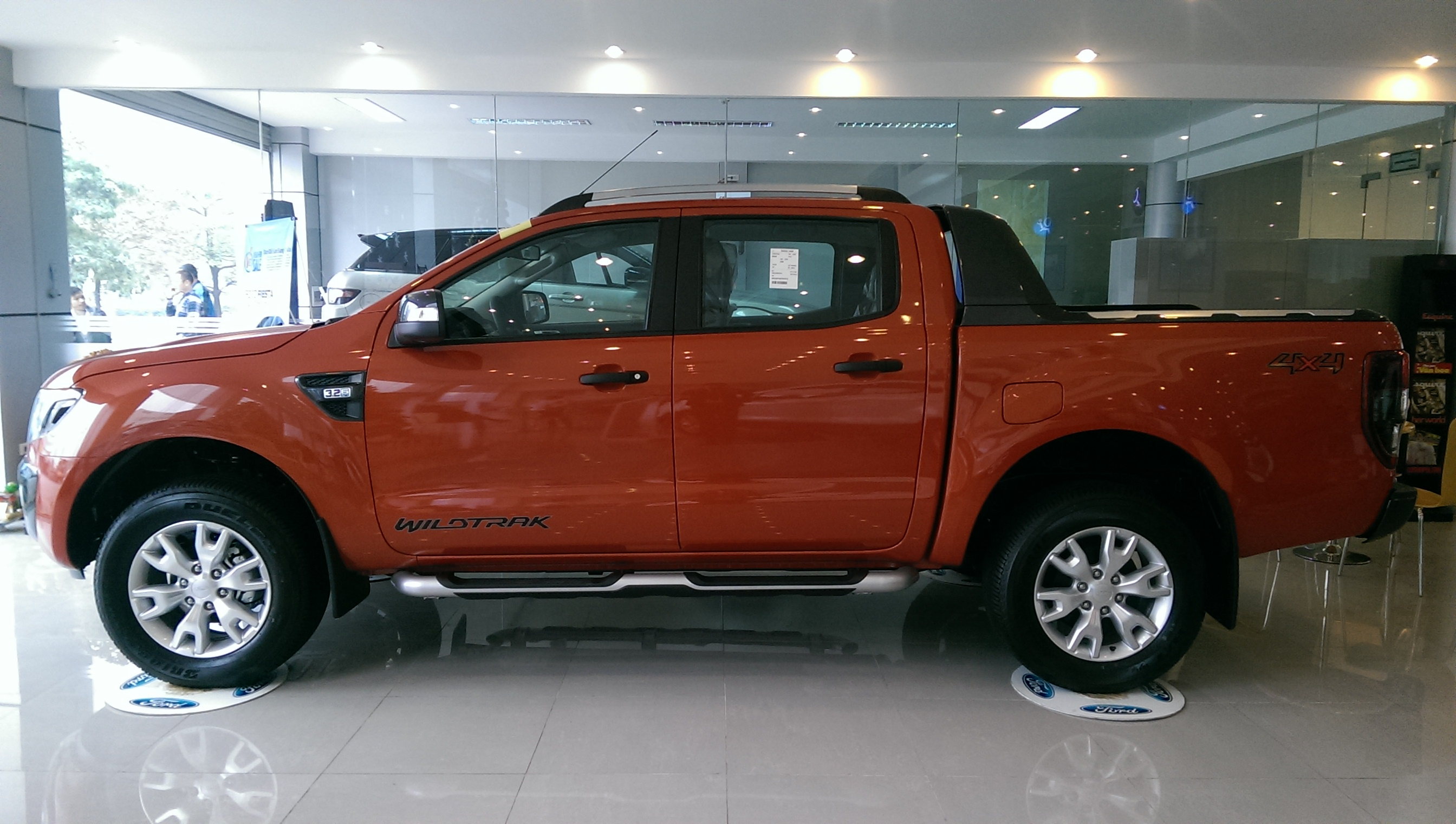 Ford Ranger 3.2L 4×4 AT Wildtruck