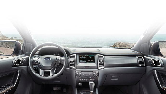 Nội-thất-xe-Ford-Ranger-2016