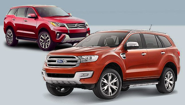 xe suv ford everest