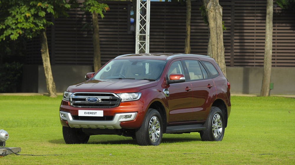 Ford Everest 3.2 4×4 Titanium AT